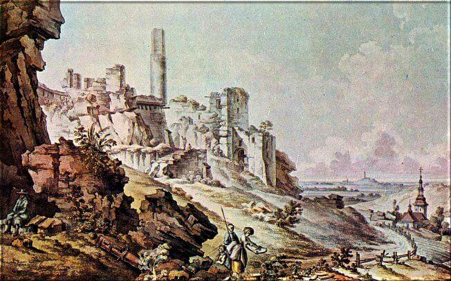 ZAMEK NA LITOGRFII N. ORDY 1881