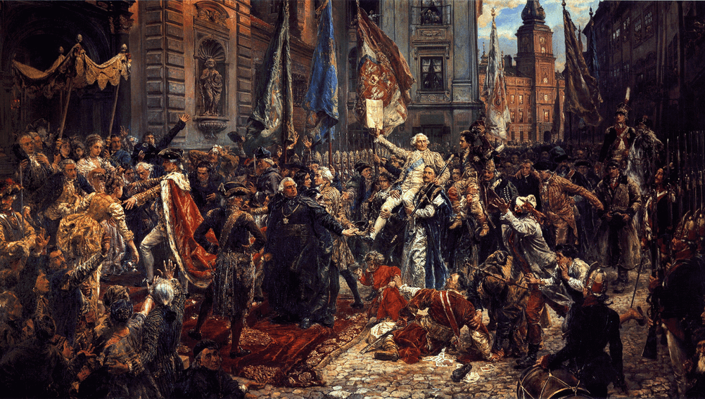 Wirtualny spacer po Warszawie – 229 lat Konstytucji 3 Maja