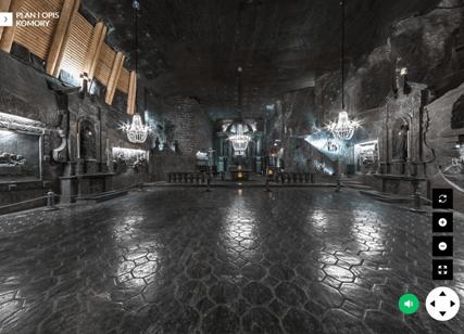 Kopalnia Soli w Wieliczce - wirtualny spacer