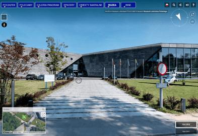 Muzeum Lotnictwa w Krakowie - wirtualny spacer
