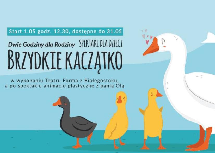 Brzydkie Kaczątko - Spektakl - teatr Forma
