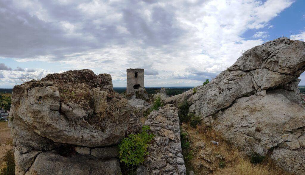 Wieża Staroscianska - skały wapienne