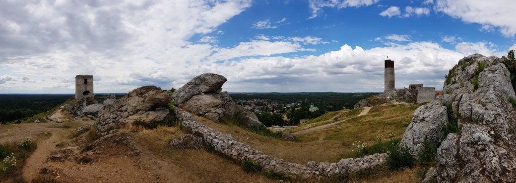Dwie Wieże Zamku Olsztyn