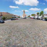Wieża Ratuszowa - widok z rynku
