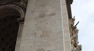 Inscriptions_Arc_Triomphe_Paris - Pułtusk