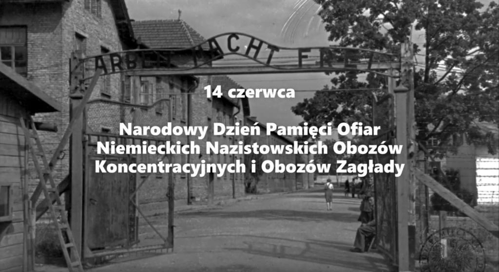 Auschwitz-Birkenau - Materiał IPN Kielce - brama