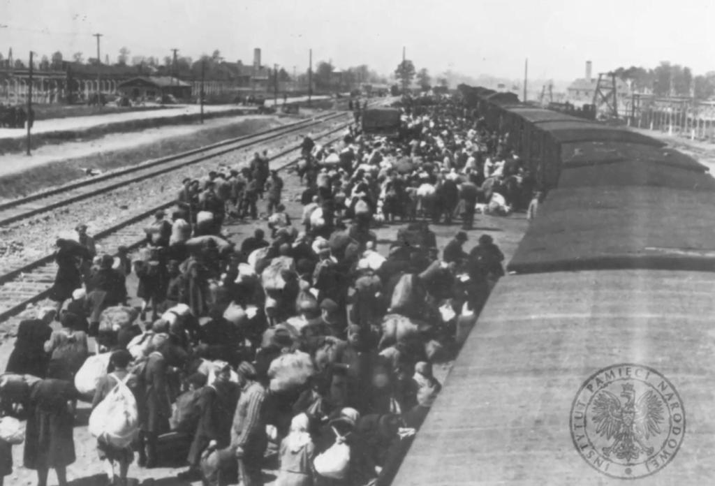 Auschwitz-Birkenau - Materiał IPN Kielce - transport