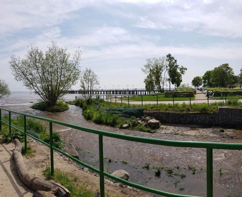 Orłow - rzeka Kacza - ujście