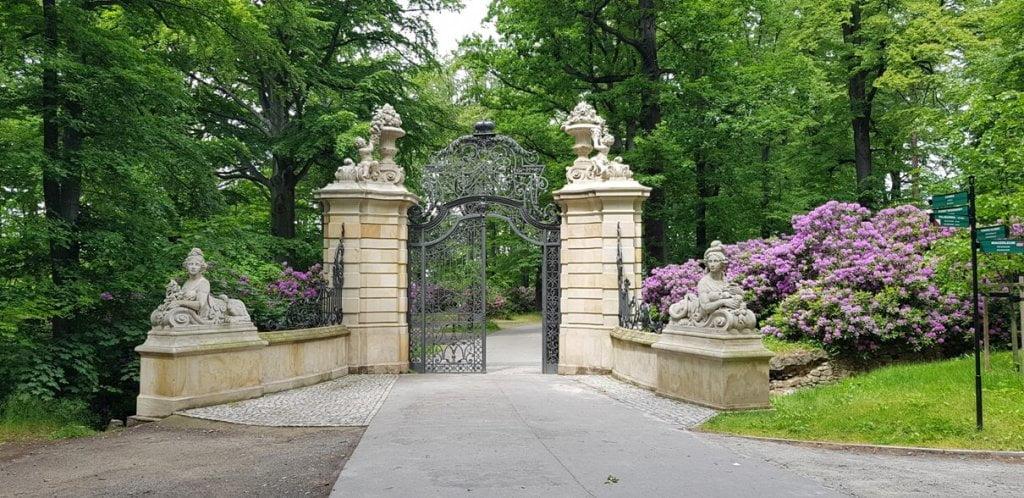 Brama Parkowa - Zamek Książ