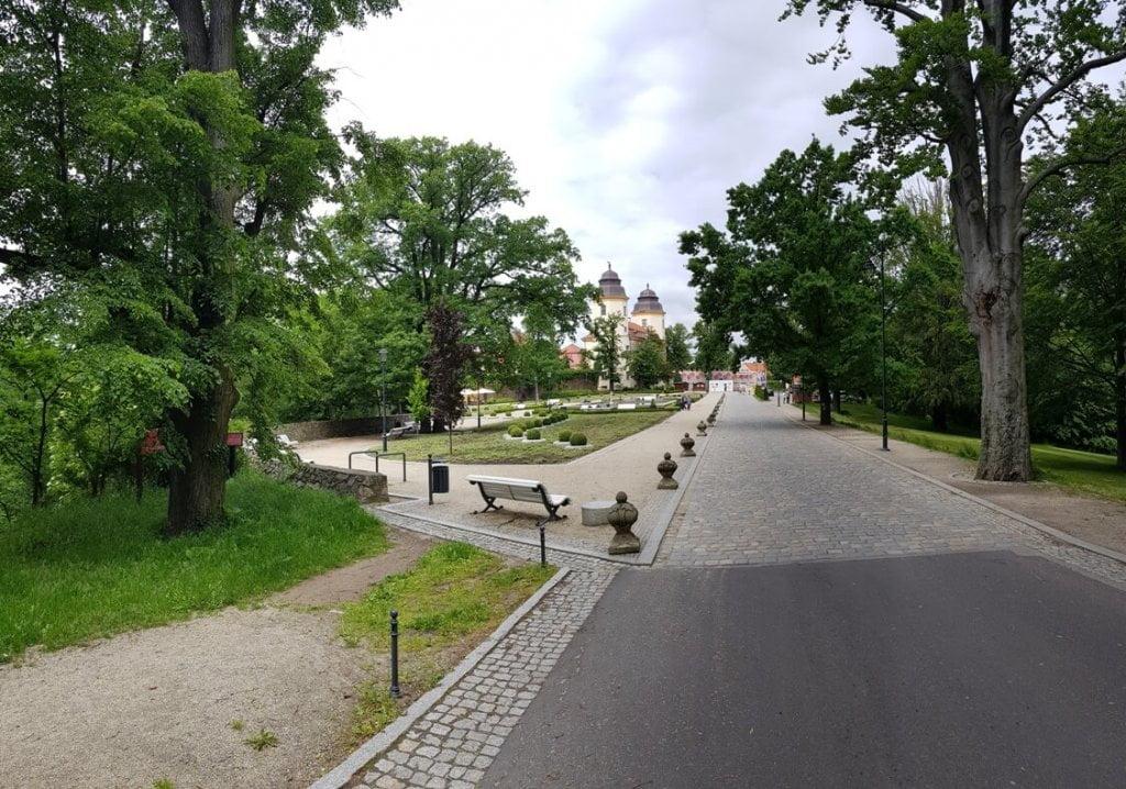 Ogrody - Zamek Książ