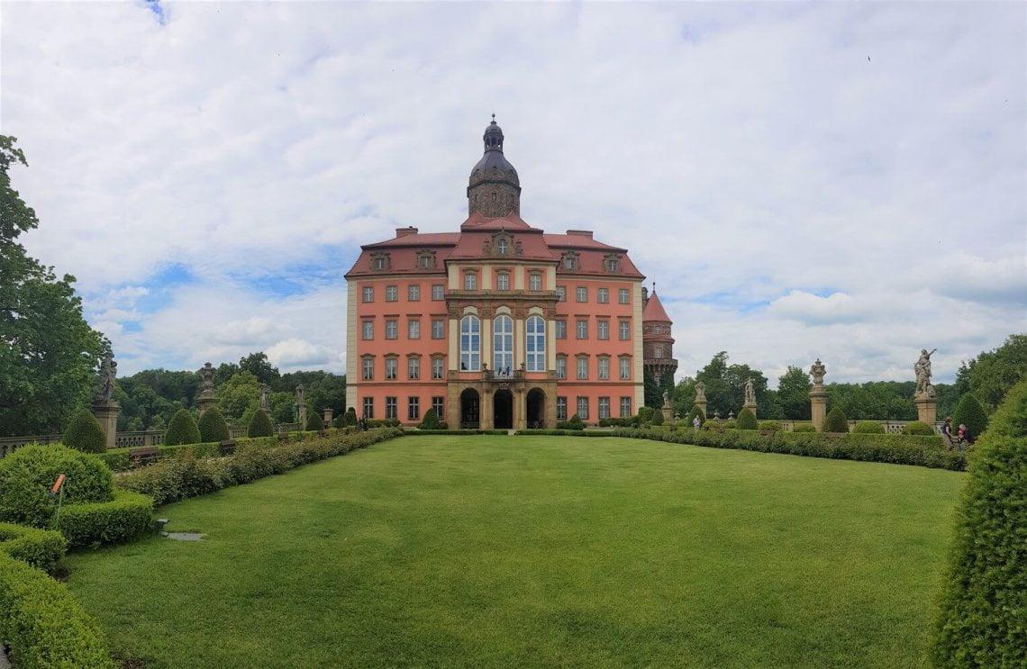 Fasada Wschodnia - Zamek Książ