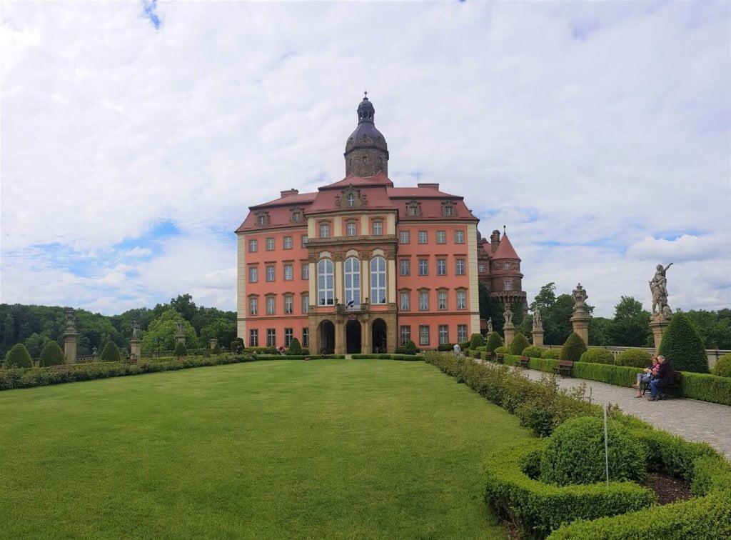 Fasada Wschodnia - Zamek Książ (foto 2)