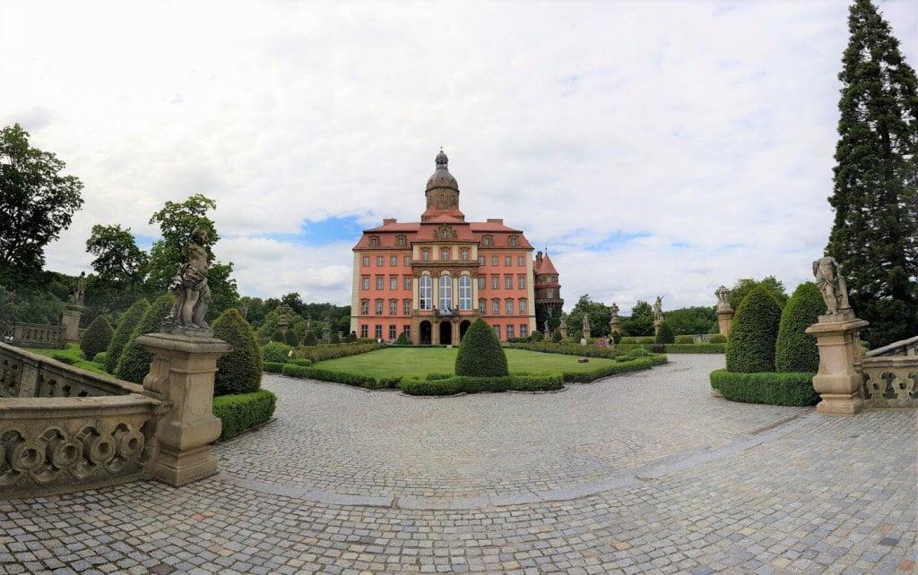 Dziedziniec - Zamek Książ