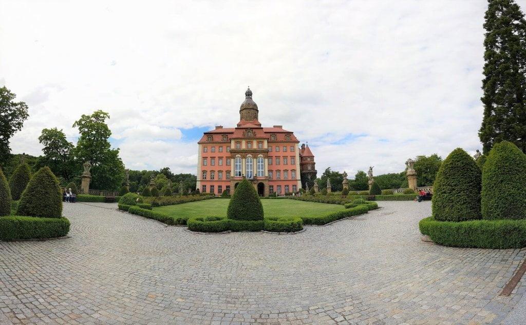Dziedziniec - Zamek Książ (foto 2)