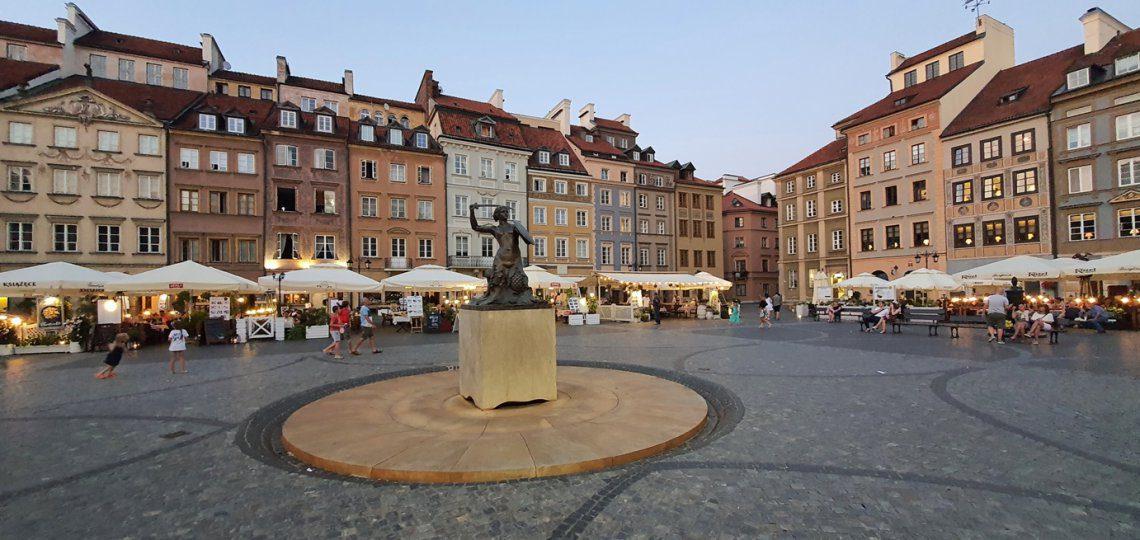 Warszawa Starówka Syrenka