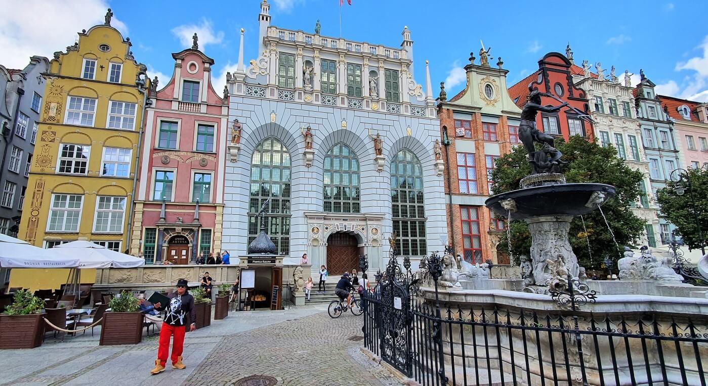 Wizytówki Gdańska – Fontanna Neptuna