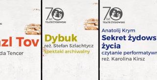 Teatr Żydowski spektakle online 21-24 kwietnia 2020